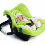 Car seat, safety restraint fitting